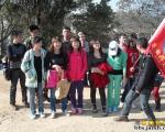 2013年1月13日徒步马峦山聚会照片